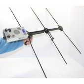 MS 600 Receiver w/ Attached Quick Fold 3 Element Yagi